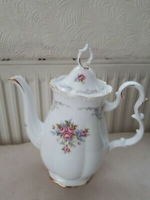 £80 • Buy Royal Albert Tranquility Large Coffee Pot. Never Used. 1st Quality. Good Cond.