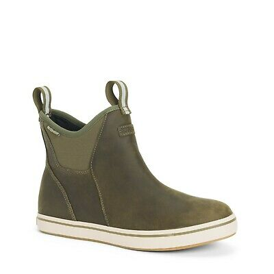 £72.71 • Buy Men's XTRATUF Leather Ankle Deck Boot Olive XAL-300 Size 8