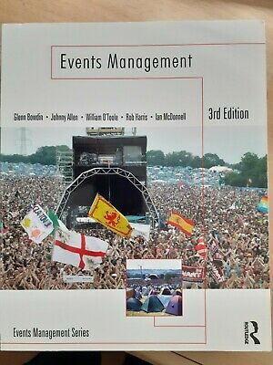 £25 • Buy Events Management, Very Good Condition Book, Glenn Bowdin, Johnny Allen, William