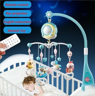 £21.99 • Buy 150 Melodies Hanging Rotary Baby Cot Mobile Crib Bed Toys Wind-up Music Box Q