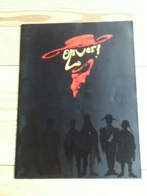 £4 • Buy OLIVER The Musical - LARGE Programme - 1995 Edition