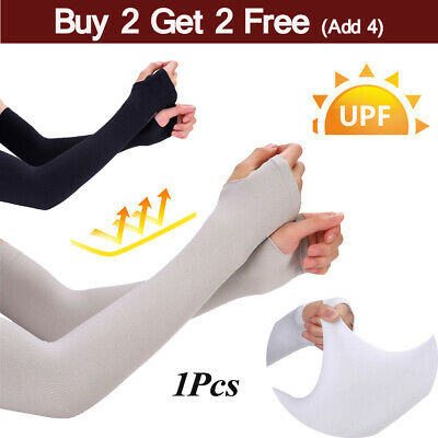 £2.39 • Buy 1Pcs Outdoor Sports Arm Sleeves UV Sun Protection Breathable Arm Warmers Cover