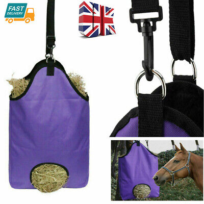 £11.75 • Buy Horse Feed Durable Large Hay Bag For Horses Pony Control Feeding Equestrian UK
