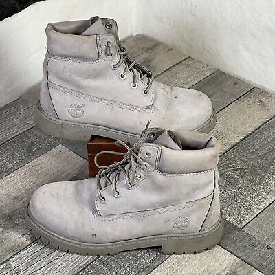 £24.95 • Buy Timberland  6´´ Premium  Boots Outdoor Leather Ankle Waterproof Grey UK Size 4.5