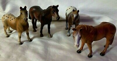 £18.18 • Buy 4 Schleich Horses Appaloosa & More - From 2002, 2000,1995
