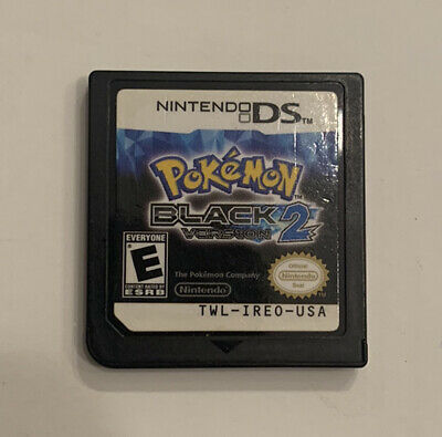 $112 • Buy Pokemon Black Version 2 DS Cart Only AUTHENTIC TESTED WORKS Nintendo