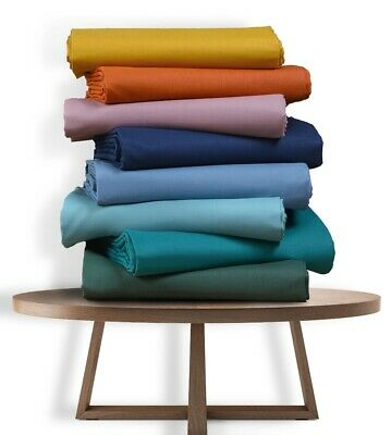 AU47 • Buy Single/KS/Double/Queen/King 4 Piece Bed Sheet Set, Flat, Fitted, Pillowcases
