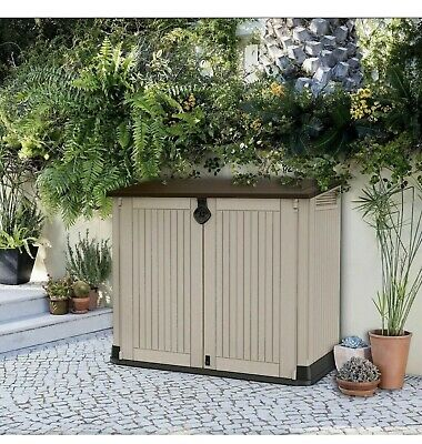 £154.90 • Buy Keter XL Store It Out Midi Garden Storage Box Shed Keter Bin Box Store Max -880L