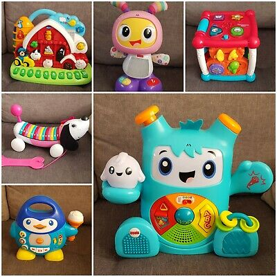 £10 • Buy Baby Toys Fisher Price Robot Chicco Vtech Musical Toys Activities