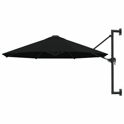 AU126.95 • Buy Wall Mounted Parasol 3m Outdoor Umbrella With Crank System Garden Shade Cover