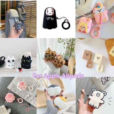 AU17.96 • Buy For AirPods 1/2 Pro 3D Cute Cartoon Silicone Charging Case Skin Protective Cover