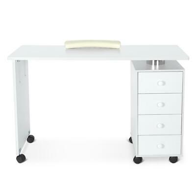 £166.70 • Buy Portable Mobile Manicure Nail Table Beauty Salon Art Nail Table 4 Drawers Device