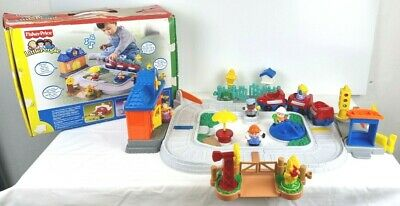 £24.99 • Buy Fisher Price Little People Train Set 5 People - 100% Complete With Sounds & Box