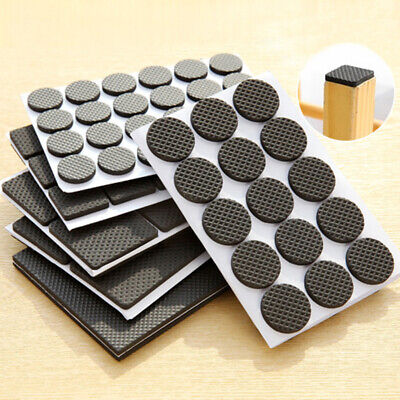 £2.98 • Buy Non Slip Furniture Pads Grippers Self Adhesive Rubber Feet Chair Table Leg Pad
