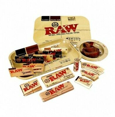 £26.99 • Buy Raw Gift Set - Raw Metal Rolling Tray, Papers, Accessories, Smoker Gift,smoking