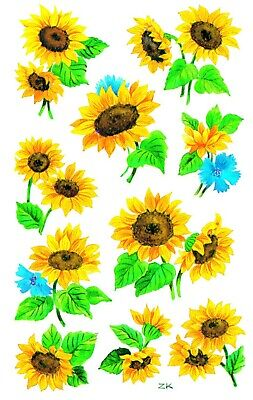 £2.85 • Buy Sunflower Stickers Kids Childrens Labels Cards, Craft And Decoration 54103