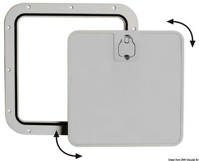 £27.90 • Buy Boat Deck Grey Inspection Hatch With Removable Lid 375x375mm