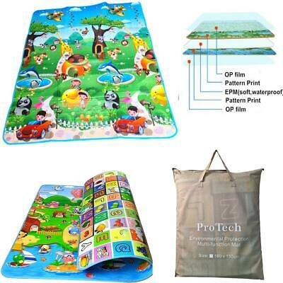 £13.99 • Buy Large Play Mat 2 Sided Baby Kids Crawling Educational Soft Foam Game Carpet Gift