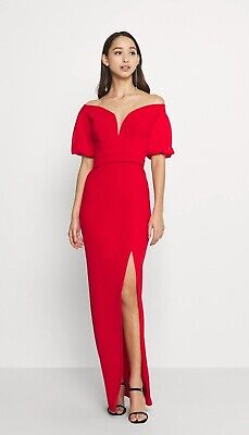 £25 • Buy WAL G.  MILENA FLARE SLEEVE MAXI - Occasion Wear Size S