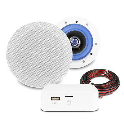 £120 • Buy Home Ceiling Speaker System With Bluetooth, Smart Wireless Music Streaming ESCS5