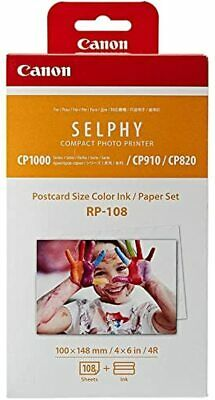 AU44.90 • Buy Canon RP-108-Ink And Paper Set Compatible With Selphy CP910,CP820,CP1200,CP1300