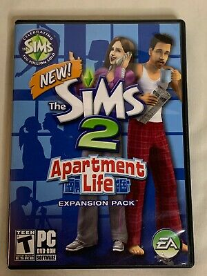 £10.14 • Buy Sims 2 Apartment Life Expansion Pack PC CD-ROM 2008 Disc Manual Case