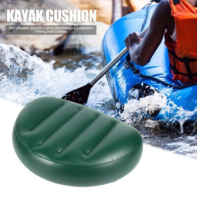 £5.49 • Buy Portable PVC Green Kayak Inflatable Seat Cushion Outdoor Water Sports Tool