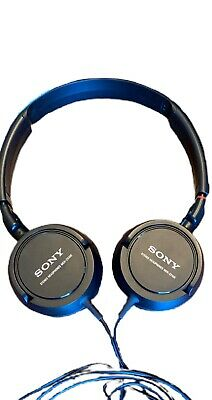 £11.62 • Buy Sony MDR-ZX100 Stereo Headphones (Black) Tested And Working