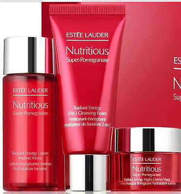 £22.99 • Buy Estee Lauder Nutritious Recharge Your Radiance Detox + Hydrate Gift Set