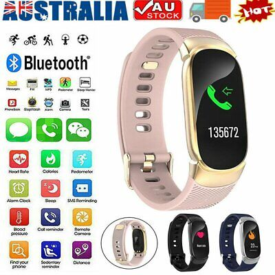 AU28.96 • Buy Waterproof Smart Watch Heart Blood Pressure Rate Fitness For IPhone AndroMB