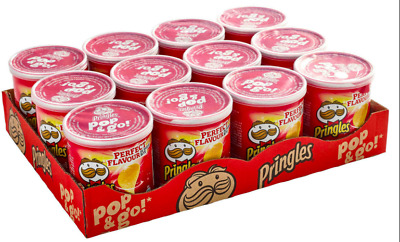 £11.99 • Buy Pringles Pop & Go Original Salted Crisps 12 Or 24 X 40g OUT OF DATE 22/07/21
