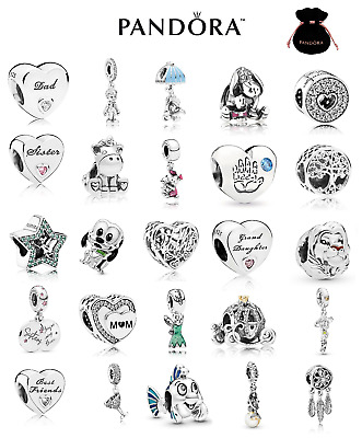 £14.25 • Buy Brand New Authentic PANDORA Charms ALE S925 Sterling Silver FREE GIFT POUCH