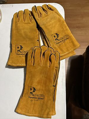 £9.99 • Buy Predator Signature Welding Gloves Size 11 3 Pairs Mig Tig High Quality