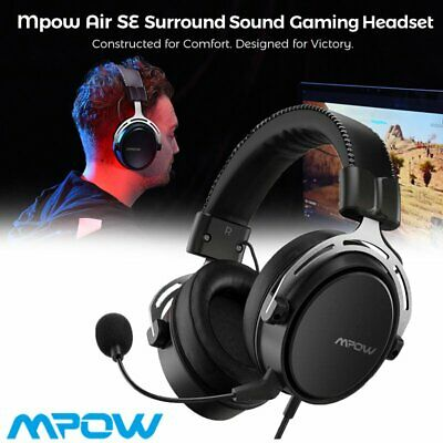AU41.87 • Buy Mpow Air 3.5mm Gaming Headset Headphones Surround For PC Mac Laptop PS4 Xbox One
