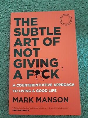 AU21.77 • Buy The Subtle Art Of Not Giving A F*ck | Mark M Paperback | Free Shipping | As New