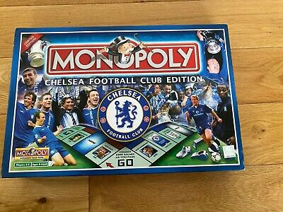 £15 • Buy Chelsea FC Edition Monopoly Board Game 2005 Release Discontinued - 100% Complete