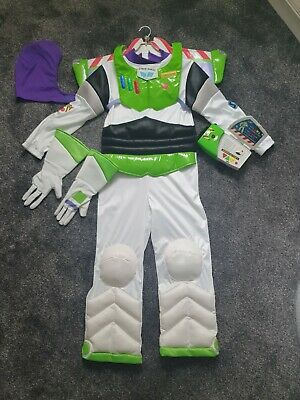 £18.99 • Buy Buzz Lightyear Toy Story Costume Age 7-8 Years . 4 Pieces Costume. Slightly Use