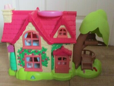 £20 • Buy ELC Happyland Cherry Lane Cottage Dolls House With Furniture.