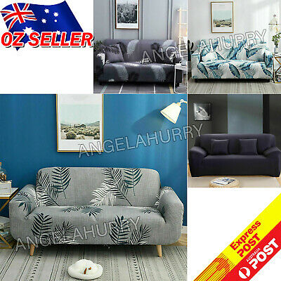 AU19.99 • Buy Sofa Covers Stretch Lounge Slipcover Protector Couch Cover 1/2/3/4 Seater NEW