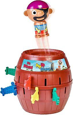 £9.99 • Buy TOMY Games T7028 TOMY Pop Up Pirate Classic Children's Action Board Game Toy,