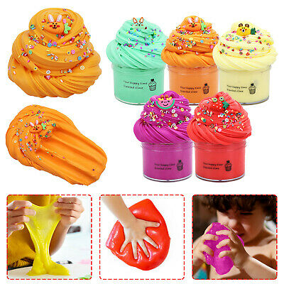 AU6.54 • Buy 70ml DIY Butter Slime Fruit Kit Slime Mud Non-Sticky Cloud Slime Scented Toy