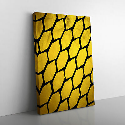 £19.95 • Buy Golden Beehive Canvas Print Wall Art Picture
