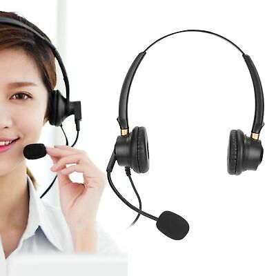 £12.91 • Buy 2.5mm Telephone Headset Over Ear Call Center Headphone Noise Reduction With Mic