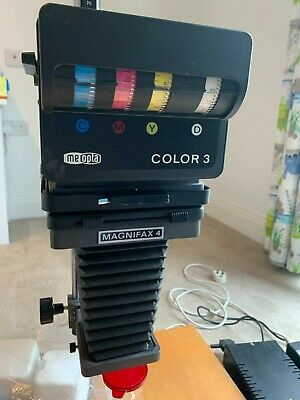 £280 • Buy Meopta Magnifax 4 With Color 3 Head, Photographic Enlarger, Plus Accessories