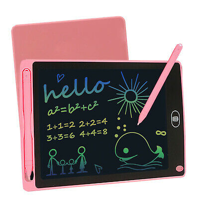 AU13.99 • Buy 8.5  LCD Writing Tablet Drawing Board Colorful DoodleHandwriting Pad Kids Gifts