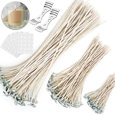 £5.99 • Buy Candle Wicks Pre-waxed Soy Wax Candle Wicks For Candle Making Kit Candle Wax