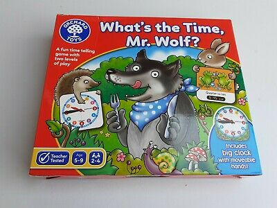 £8.50 • Buy Orchard Toys WHAT's THE TIME, MR. WOLF? Kids Educational Game 5 Yrs+ NEW