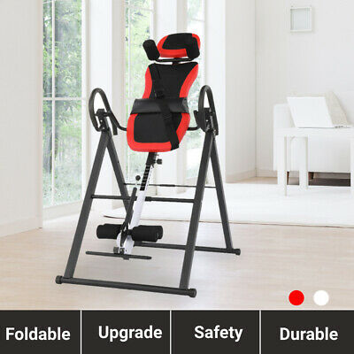 £84.99 • Buy Upgrade Gravity Inversion Table Body Relax Bench Adjustable W/ Safety Belt