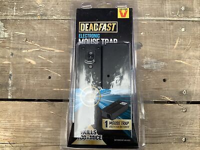 £15 • Buy Deadfast Electronic Mouse Trap 100% Kill Rate Quick Humane Rodent Pest Control