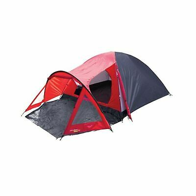 £47.89 • Buy Yellowstone 4 Person Tent Camping Family Red/Black